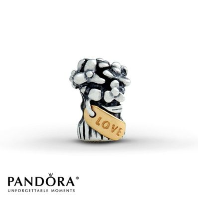 "Pandora ""Love Bouquet"" Charm - (have) - got this when my husband told me he loved me the first time!  HAVE"