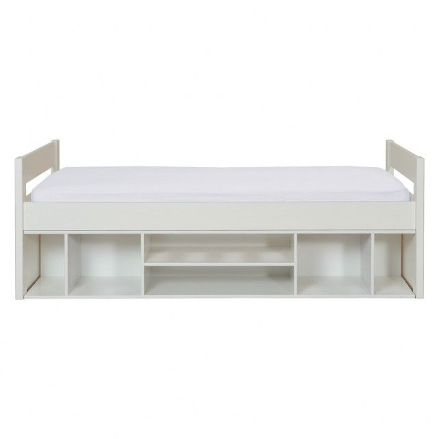 PONGO Kids' white EU single storage bed 90cm | Buy now at Habitat UK
