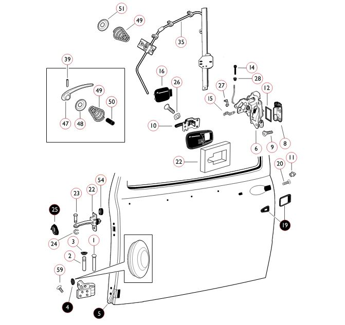 u0026 39 67 beetle door locking mechanism