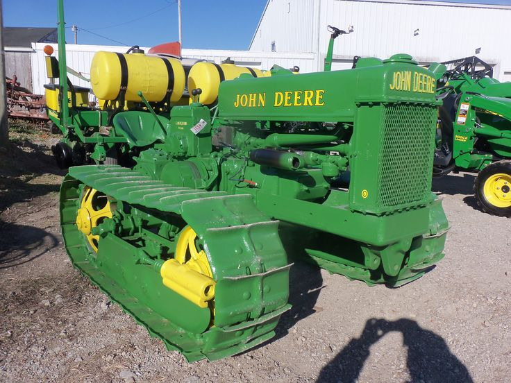 1946 John Deere  John Deere Lindeman BO orchard  crawler tractor