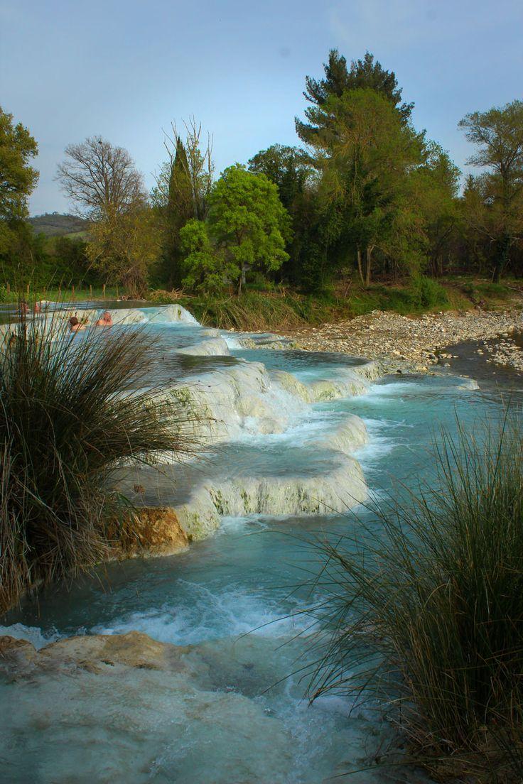 Bains thermaux naturels, Toscane,