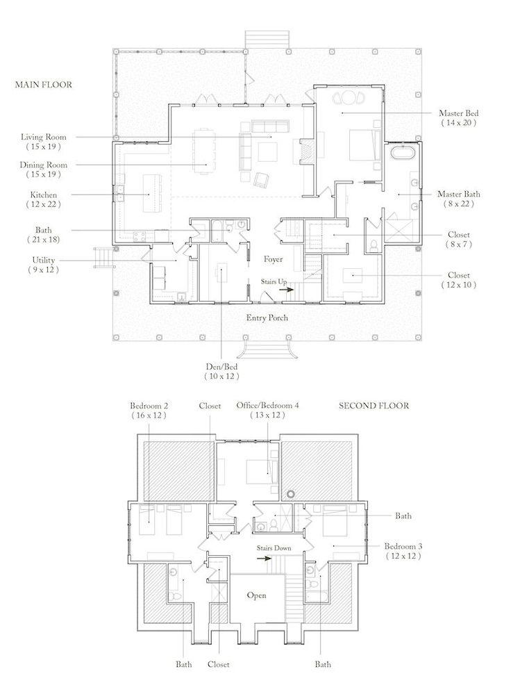 Palmetto Bluff Wharton Really Like This Floor Plan