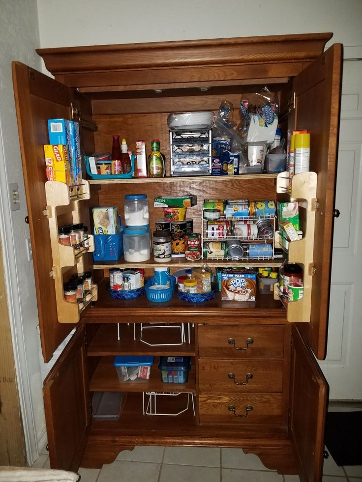 17 Best Ideas About Armoire Pantry On Pinterest Built In Pantry Wall Pantry And Painted