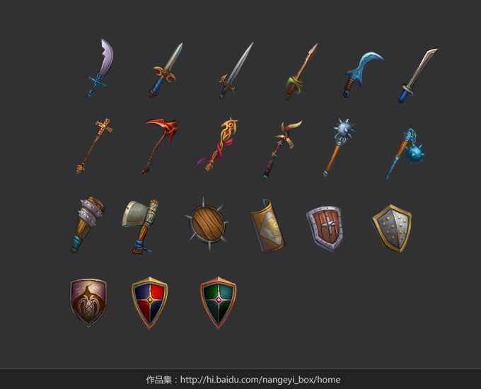 weapons by ~nangeyi on deviantART
