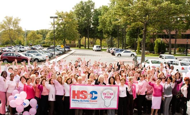 Henry Schein Cares Think Pink ThinkPink CSR Charity