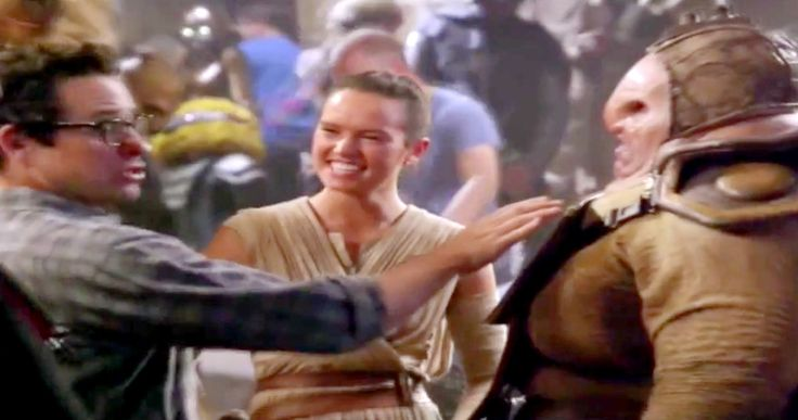 New 'Star Wars 7' Preview Has First Look at Simon Pegg's Character -- The Disney Channel goes behind-the-scenes with Daisy Ridley for a look at Rey on the desert planet of Jakku. -- http://movieweb.com/star-wars-7-force-awakens-preview-simon-pegg/