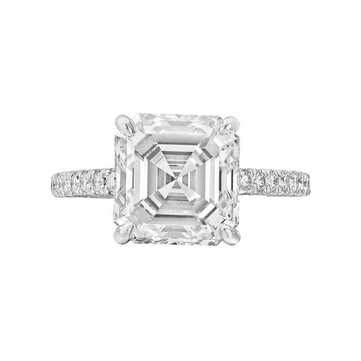 : 4 51 Carat, Diamond Engagement Rings, Vintage Engagement Rings, Diamond Rings, Asscher Cut Diamonds, Diamonds Rings, Asschercut Diamonds, Carat Asscher Cut, Diamonds Engagement Rings