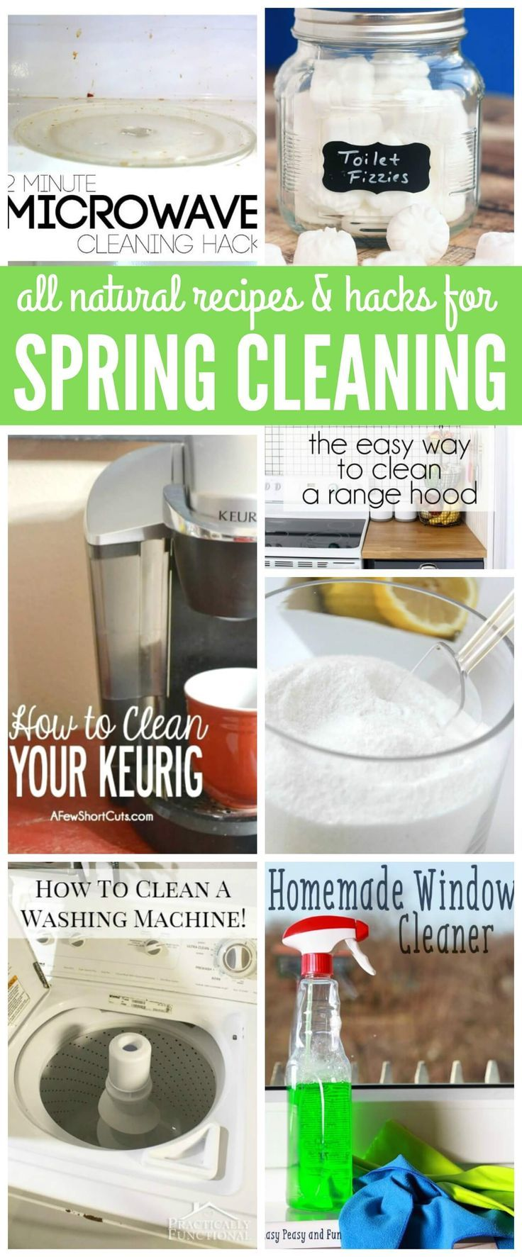 Best all natural cleaning products - All Natural Recipes And Hacks For Spring Cleaning Tip And Tricks To Take The Chemicals
