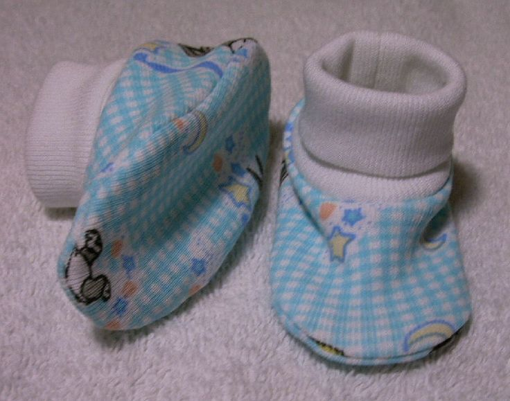 Baby bootie pattern 5 designed for preemie and newborn babies up to 12 months for sewing, quilting and dolls. Baby booties kits by Lil' Baby Thangs