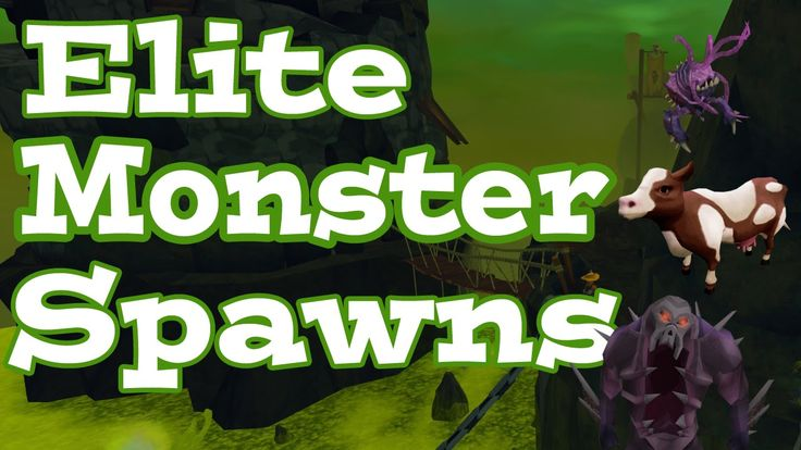 "Runescape offers you the chance to spawn elite monsters, these ferocious beasts from Gielinor. ""Elites have a chance to spawn on the death of others of their kind, with one guaranteed spawn and greatly increased chance per kill when you take on a matching Slayer assignment"". This is the list with the monsters that can spawn elites: - Waterfiends - Harpie bug swarms - Nechryael - Aquanites - Earth warriors - Cave horrors - Cows - Ankou - Dust devils The rest of the details on…"