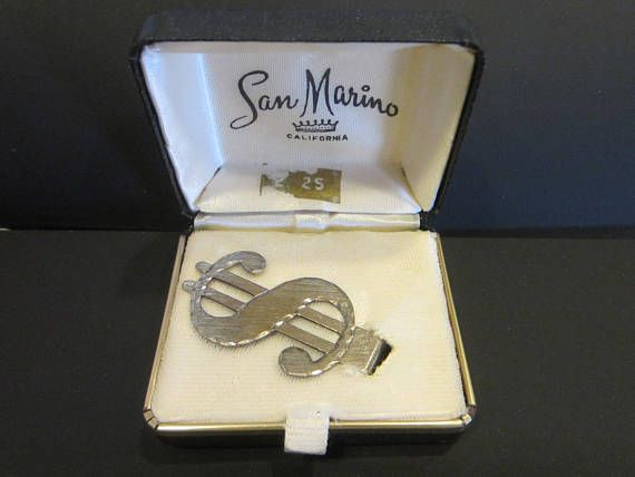 Simmons Sterling Money Clip Dollar Sign Design In San Marino