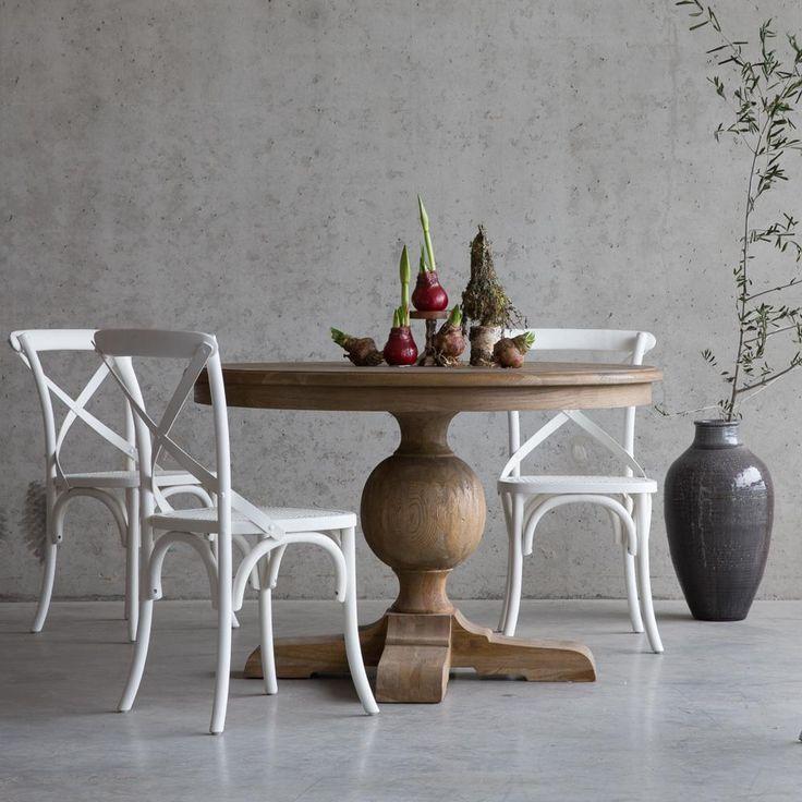 17 beste idee n over witte ronde tafels op pinterest for Keukenstoelen met wieltjes
