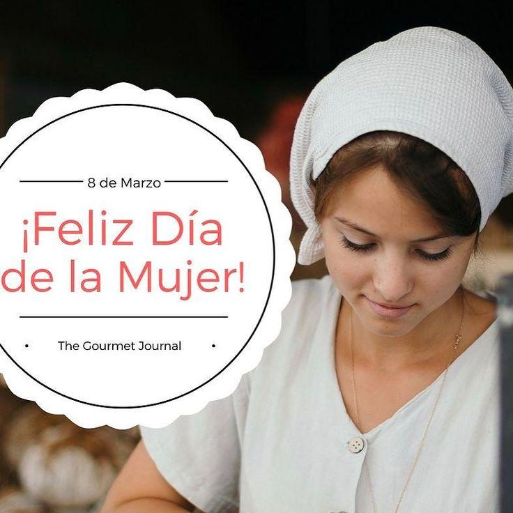 Hoy es el #DiaInternacionalDeLaMujer! Nuestro agradecimiento por vuestro trabajo vocación y dedicación diaria. GRACIAS! #womensday#cocineras #mujer #mujertrabajadora