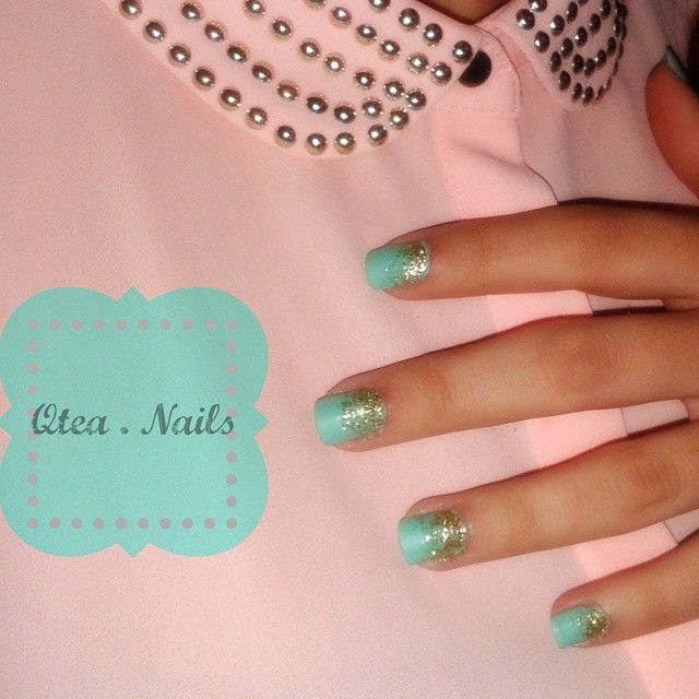 https://www.instagram.com/explore/tags/qteanails/ Tres chic mint_nails! If you like pastel you gonna love this combination!! And even if you feel out of mood, you gonna feel full of energy every time you look at your nails..! @lillyantoniadou :) #qteanails  #nailart #greece