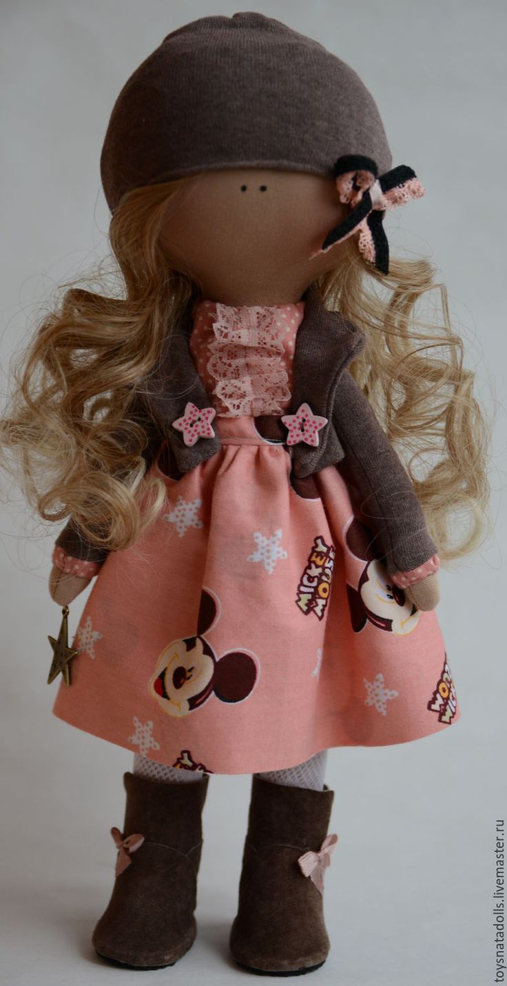 Купить Интерьерная кукла - интерьерная кукла, тильда, текстильная кукла, кукла…