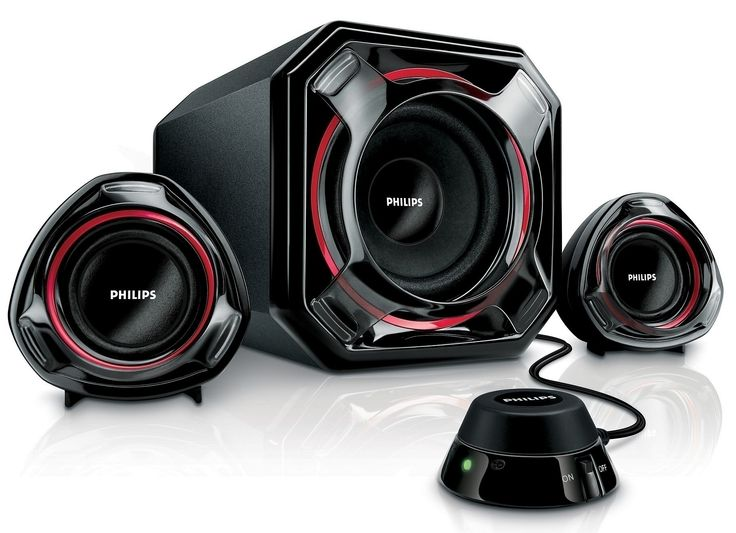 Sistema de altavoces 2.1 para PC Philips SPA5300_10. 50 W RMS.