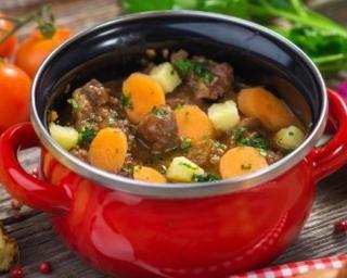 Boeuf mijoté minceur aux carottes et aux pommes de terre
