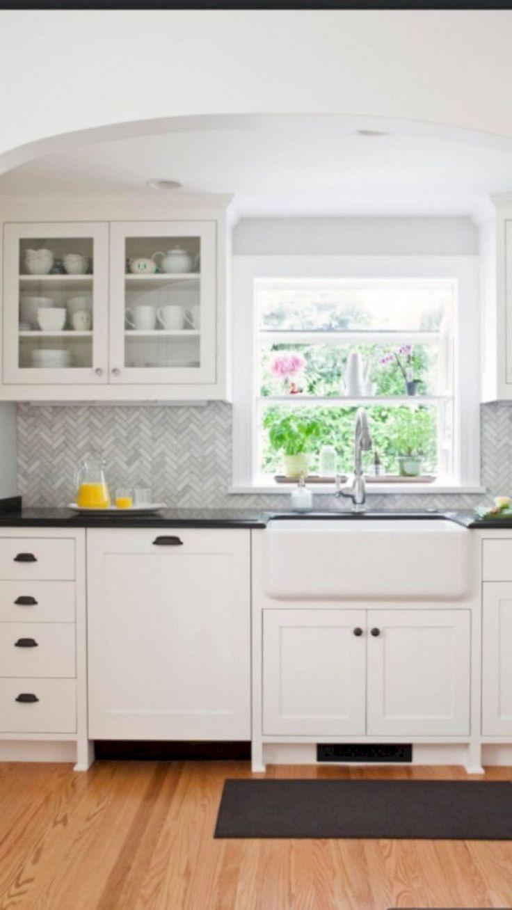 60+ Marvelous White Kitchen Backsplash Ideas - Page 34 ...