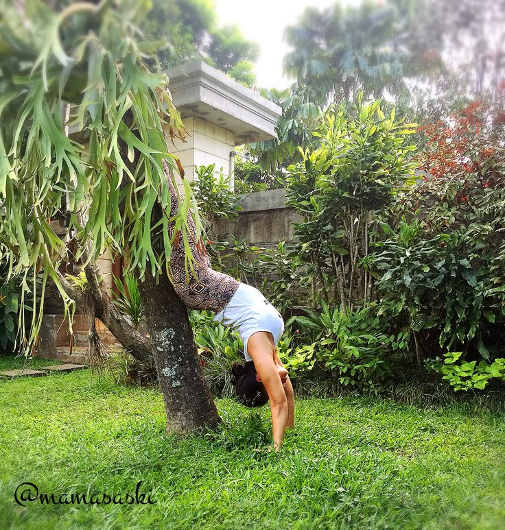 Hollowback Handstand