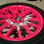 : pink rims for honda civic for sale