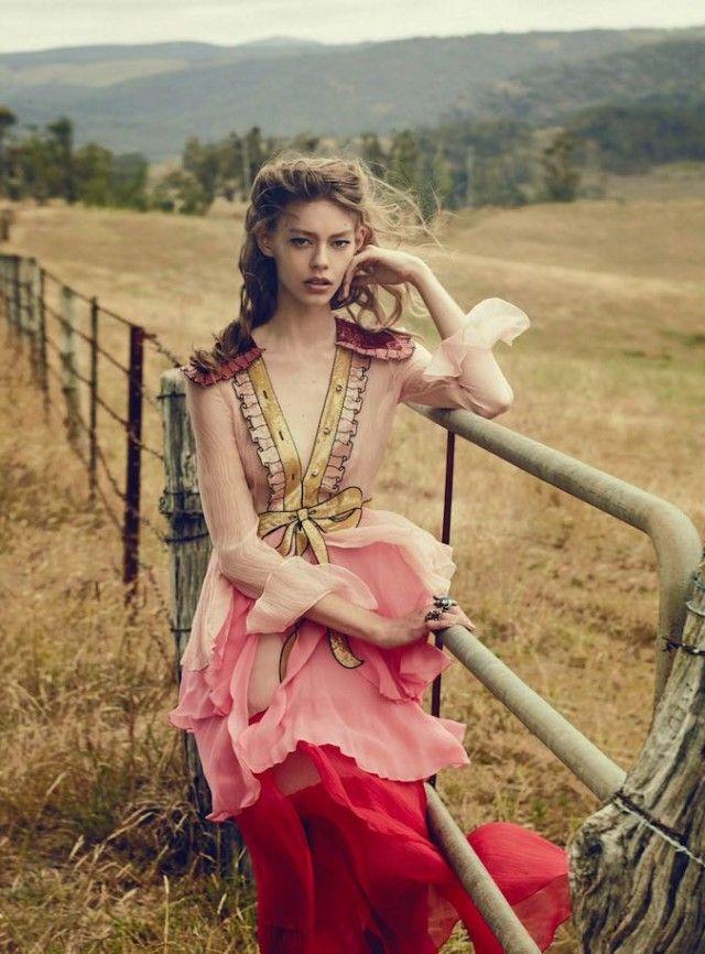Last Train - Vogue Australia March 2016