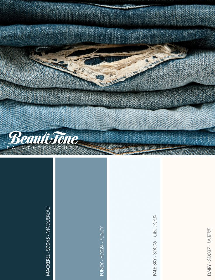 62 best beauti tone colour crush images on pinterest art for Blue jean paint color