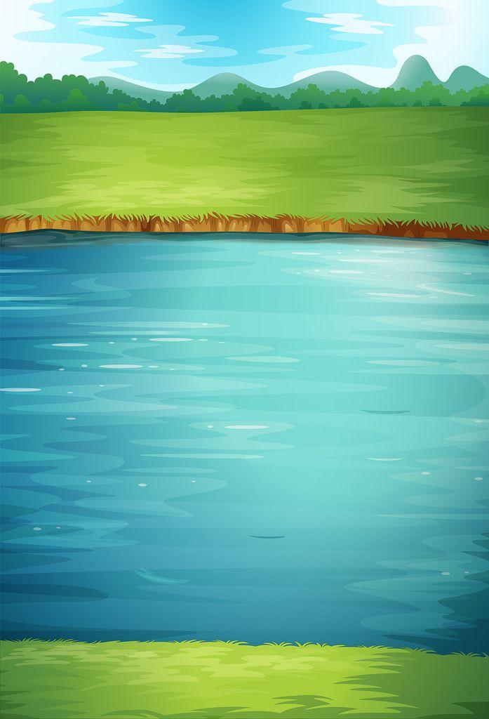 несколько картинка мультяшного озера демьяново когда-то