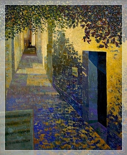#Art #Buildings - Entre ombre et lumière. / Between shadow and light. / By Ton…