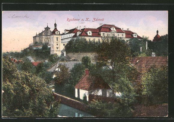 AK-Rychnov-n-K-Zamek-Partie-mit-Schlossblick.jpg (580×407)
