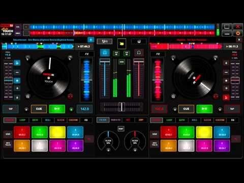 V.I.R.T.U.A.L. DJ 8 SKIN  Multi   TouchScreen V2
