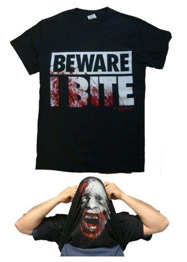 The Walking Dead Zombie Mask T-shirt
