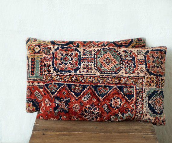 Oriental Rug Pillows 12 X 18 Set
