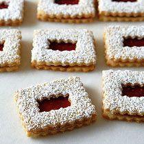 Resep Kue Kering Linzer Raspberry
