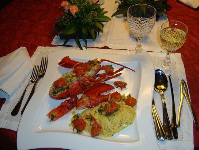 Recept voor Kreeft met taglierini. Meer originele recepten en bereidingswijze voor pizza & pasta of deegwaren vind je op gette.org.