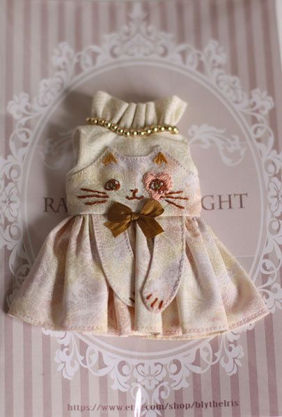 Ran's Blythe Doll Dress by RanSilentNight on Etsy