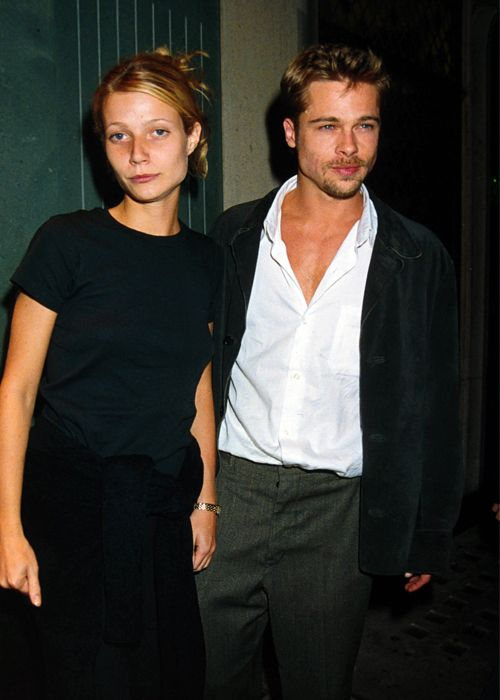 Gwyneth Paltrow: Before Chris Martin, there was Brad Pitt. They dated back in 1997.