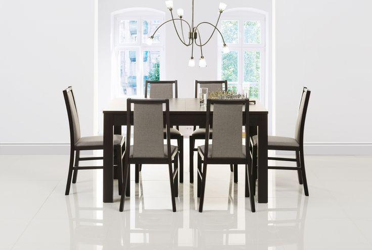 Stół z kolekcji Jowisz nada szyku każdemu pomieszczeniu. Prawda, że będzie pięknie wyglądał w Twojej jadalni?#meble #szynakameble #furniture #wood #drewno #inspiracja #zainspirujsie #inspiration #jadalnia #diningroom