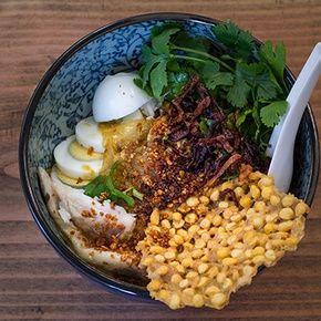 Burmese Mohinga Soup by Chef Ma. (Catfish Chowder Noodle Soup)