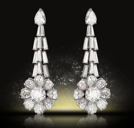 Nirav Modi earrings from the Sunburst collection.