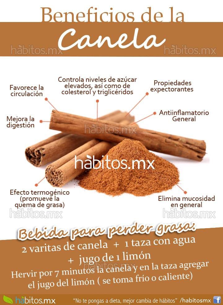 Beneficios de la Canela...