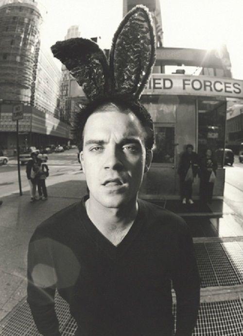 Robbie Williams in 90's