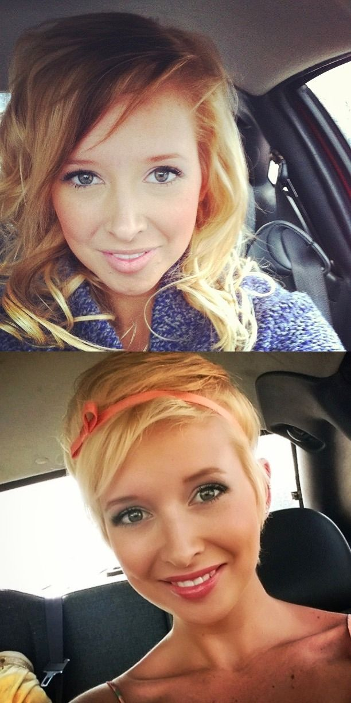 Short Hair Beauty-- she reminds me of Lisa Kudrow aka Phoebe