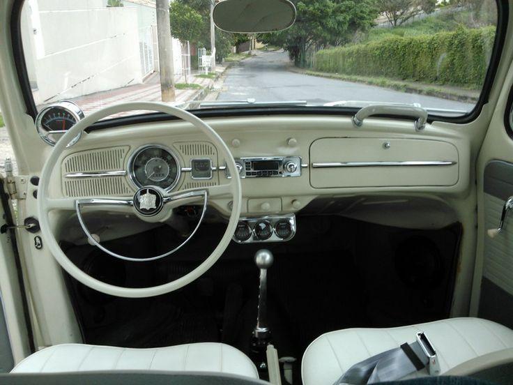 VW Sedan 1962 . branco pérola .