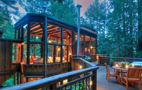 tree houses for adults | Adult tree house | Treehouses!