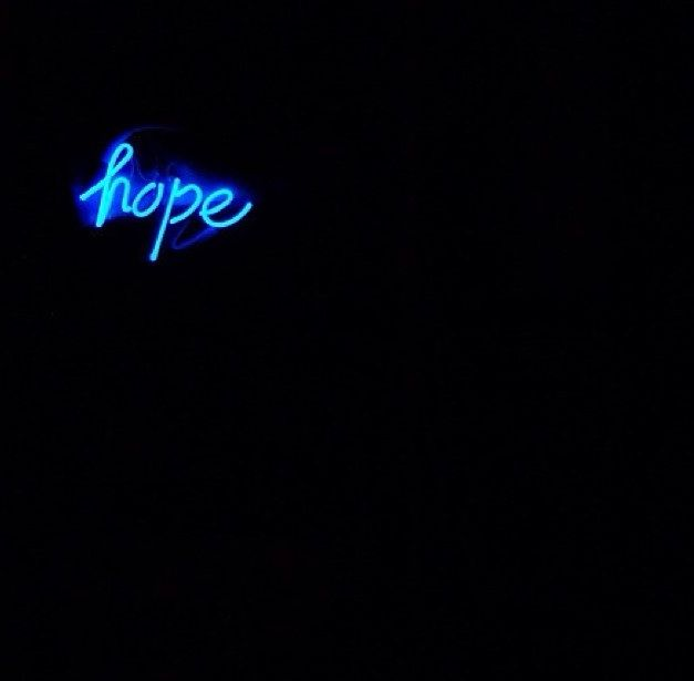 "HOPE: ""Hold On, Pain Ends."":"