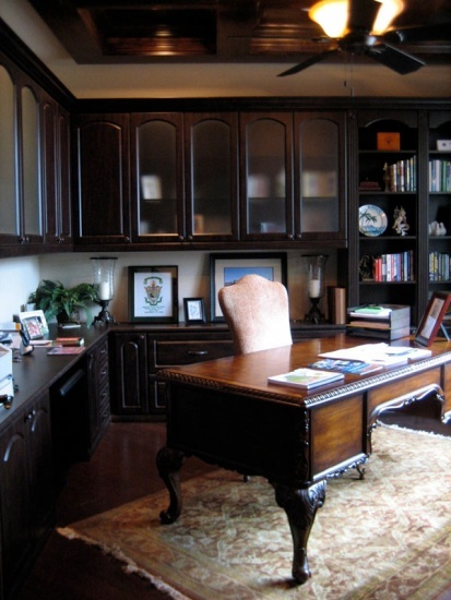 A Custom Designed Home Office Maximizes Efficiency And Work Area. Let  California Closets Design A Custom Home Office That Is Both Functional And  Stylish.