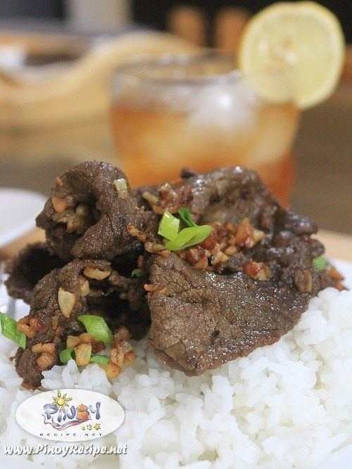 Beef Salpicao Recipe has simple ingredients and easy to cook, it has tenderloin beef with lots of garlic and some seasoning sauce.