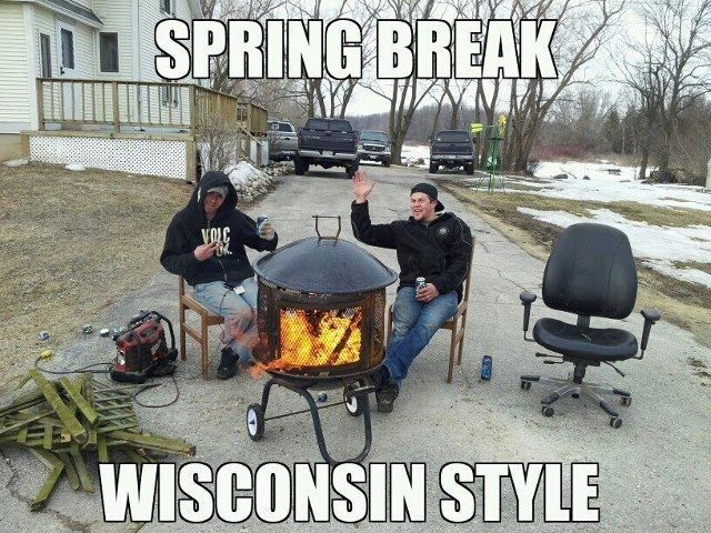 Only in Wisconsin.