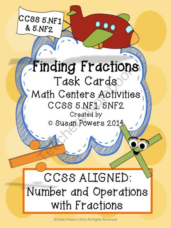 ... grade CCSS 5.NF.1 AND 5.NF.2.Activities Task, Fractions Task, Task