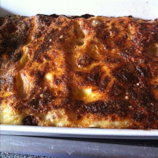 Homemade lasange!!! Yummy